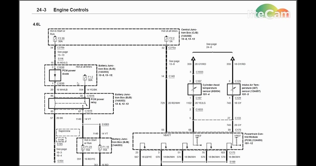 Wiring Diagram Pdf  2003 Ford F 150 5 4 Ignition Wiring