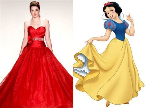 Snow White from Alfred Angelo?s Disney Princess Wedding