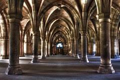 Cloister, Glasgow University