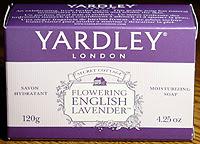 Photo: Yardley English Lavender soap