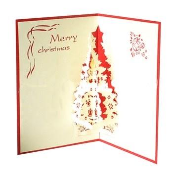 Desain Kartu Undangan Natal - contoh kartu ucapan
