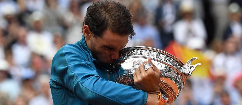 Rafael Nadal remporte pour la 11e fois Roland-Garros.