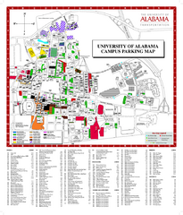 University Of Alabama Campus Map - CYNDIIMENNA