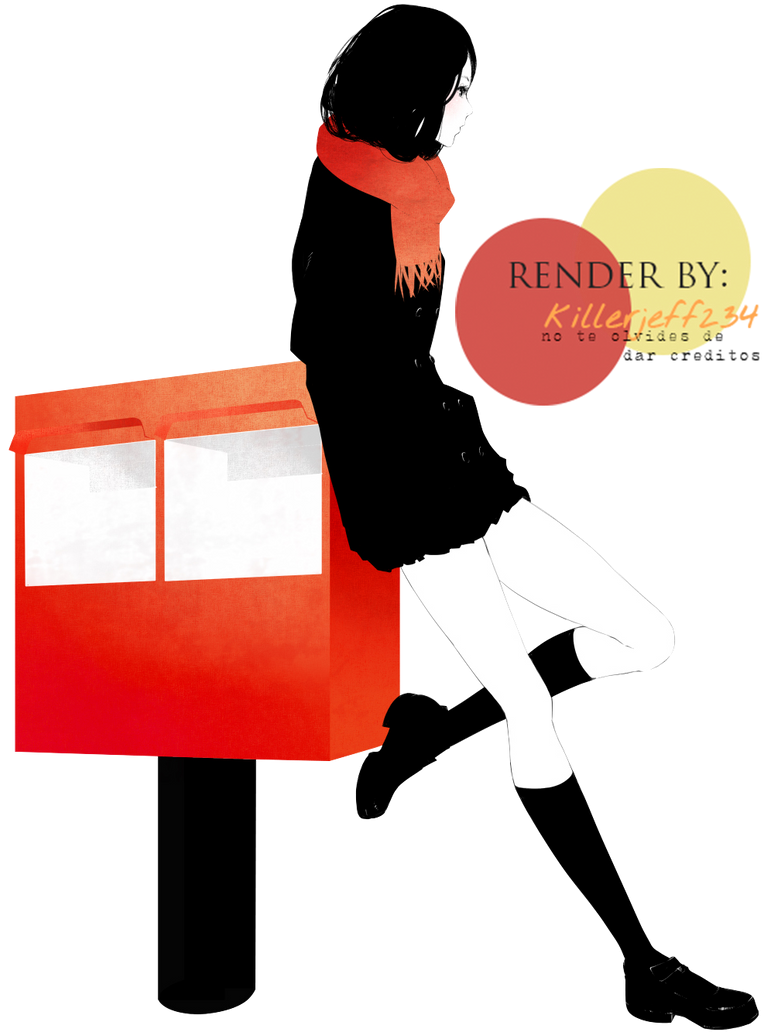 Render-girl by KillerJeff234