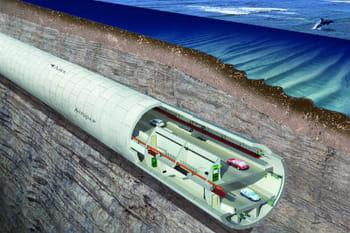 le futur tunnel double et sous-marin d'istanbul.