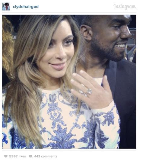 Kim Kardashian's Ring From Kanye Is Smaller Than Her Last