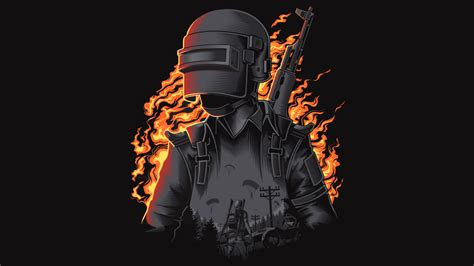 wallpaper pubg illustration playerunknowns