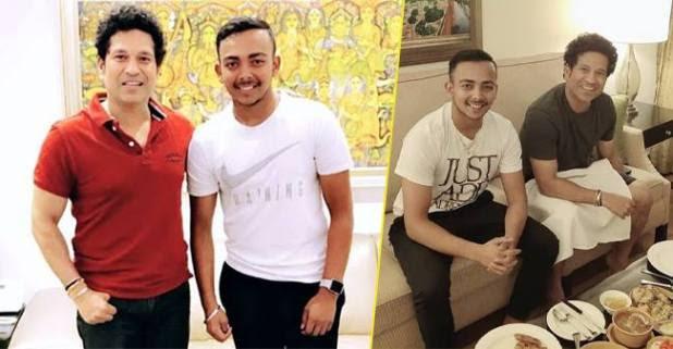 IPL 2019: DC Opener Prithvi Shaw Dines with Sachin Tendulkar Before DC Vs MI Match