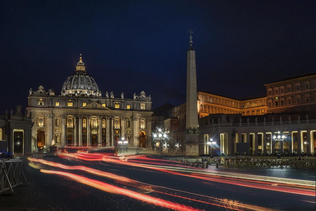 Rome, follow the lights