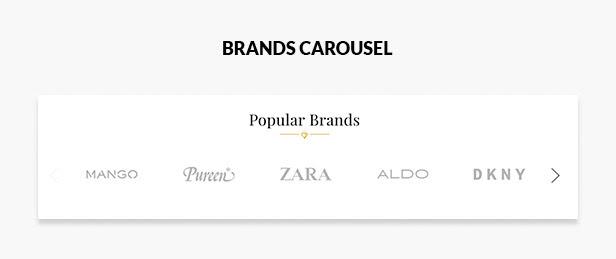 Brands carousel slider