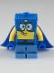 Minifig No: bob025  Name: SpongeBob - Super Hero