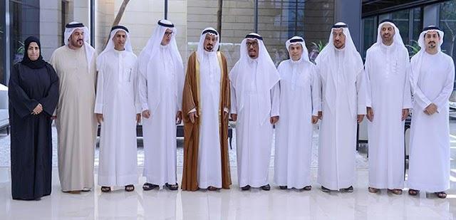 قرينة حاكم عجمان تستقبل الفائزات بجائزة راشد بن حميد للثقافة والعلوم في دورتها الـ 36