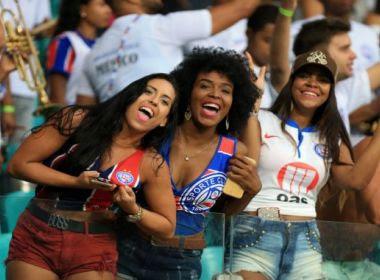 Torcedoras comemoram vagas em eleições no Bahia: 'A mulher conquistou esse espaço'