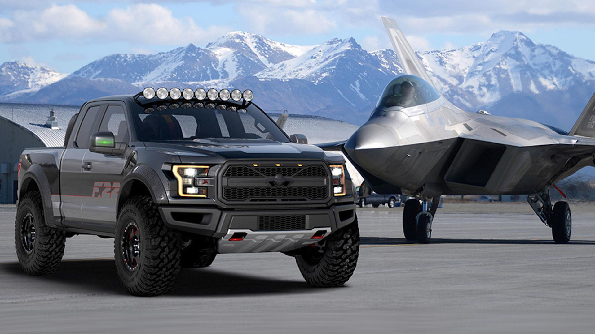 F-22-inspired F-150 Raptor is the latest special Ford ...