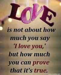 Cute True Love Quote Image When You Love Someone Quotespicturescom