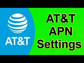 AT&T APN Settings 2021