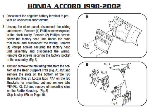 .1998-HONDA-ACCORDinstallation instructions.