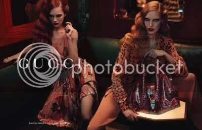 Gucci Pre-fall 2012 Ad Campaign