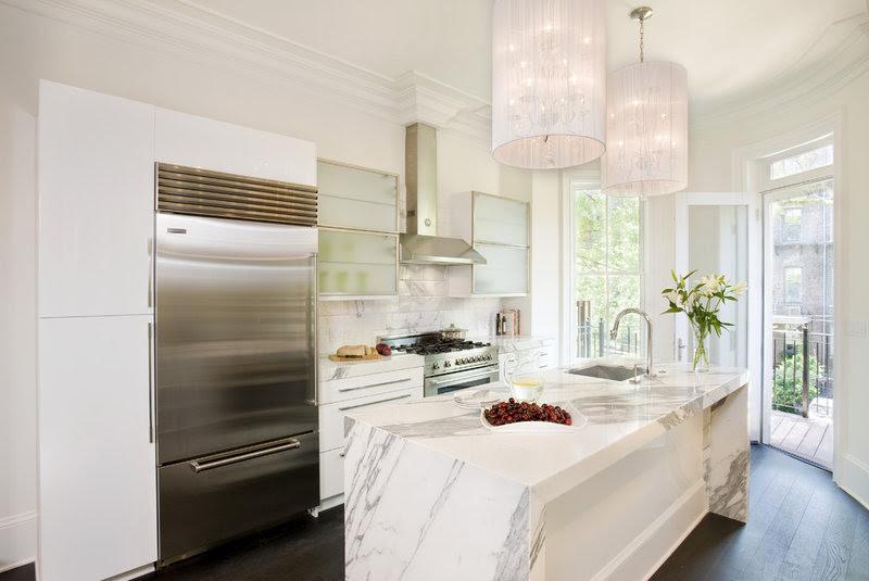 transitional kitchen by Melissa Miranda Interior Design
