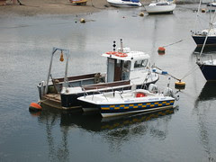 Porthmadog launch back