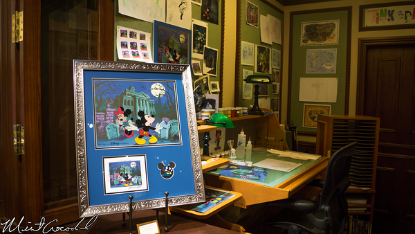 Disneyland Resort, Disneyland, Main Street U.S.A., Ink and Paint, Haunted Mansion, Merchandise