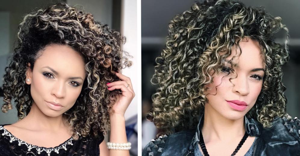 Resultado de imagem para tendencia cabelos cacheados do verao 2018