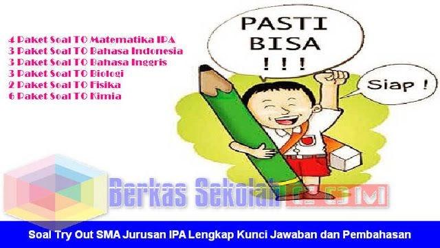 Soal Try Out Sma Bahasa Indonesia Dan Kunci Jawaban ...