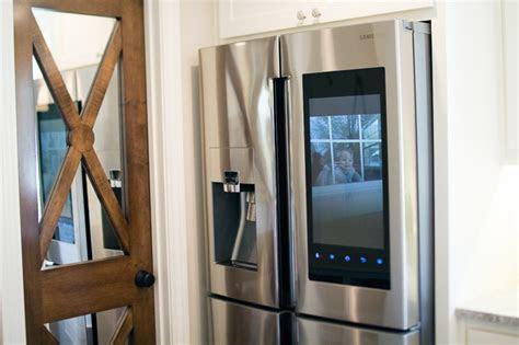 kitchen samsung smart fridge cella jane