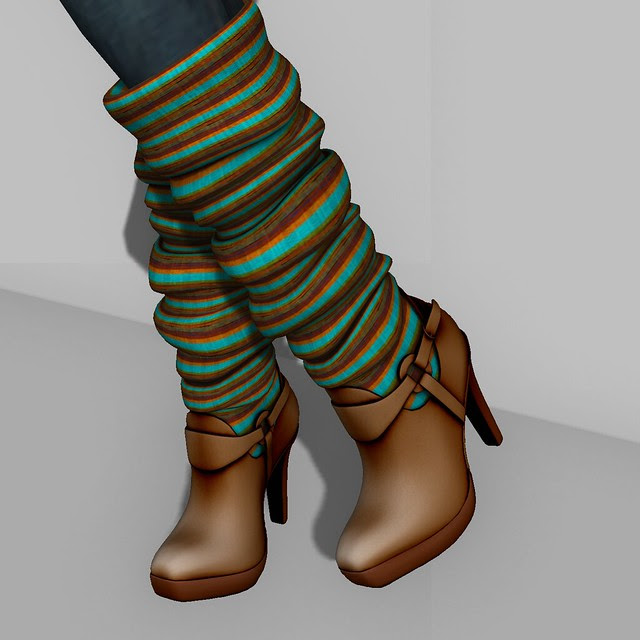 Group Gift Leather Legwarmer Boots