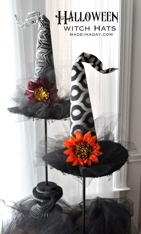 Decorative Halloween Witch Hats - Feature - HMLP 57