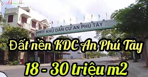 Chợ Hưng Long đến Khu Dân Cư An Phú Tây - Huyện Bình Chánh