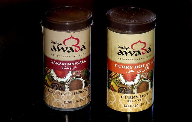 Curry y Garam Massala