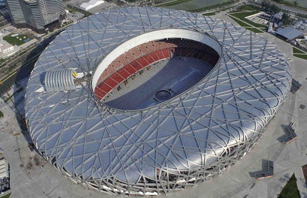 birds nest 780766i 600x387 14 Futuristic Building Designs in China