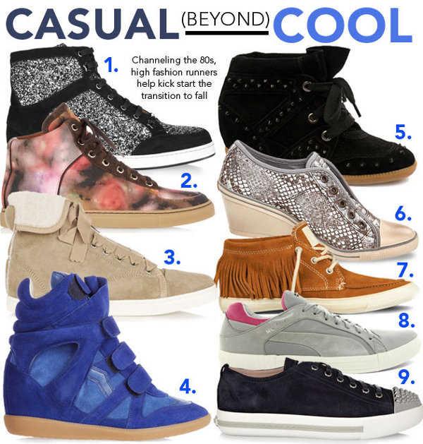 Diferente estilos de zapatillas para ti