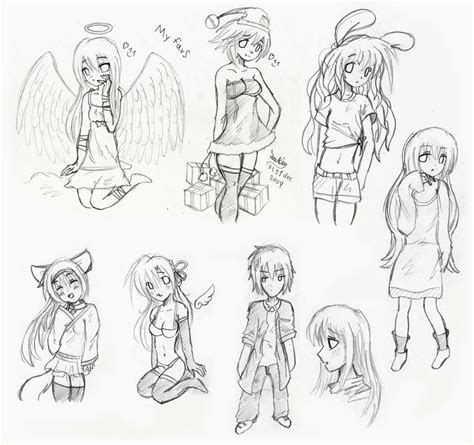 anime body templates  drawing  getdrawingscom