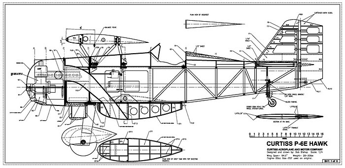 This give you an idea of what these RC airplane plans look like. Each