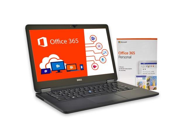 "Dell Latitude E7470 Laptop Computer, 2.40 GHz Intel i5 Dual Core Gen 6, 16GB DDR3 RAM, 256GB SSD Hard Drive, Windows 10 Professional 64 Bit, 14"" Screen (Renewed) for $658"