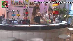 Barbara Norton Matos sensual na novela Louco Amor