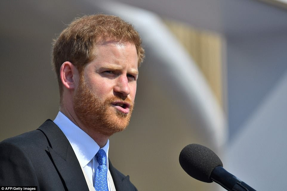 The Duchess of Sussex was given a warm welcome into the family, with Prince Harry explicitly referring to the garden party as a 'family celebration' during his speech