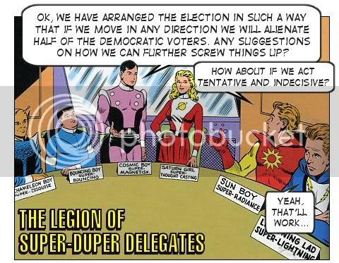 Hillary Clinton and the Legion of Super-Duper Delegates
