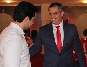Beto Santos presidente do América-RN (Foto: Canindé Pereira/Divulgação)