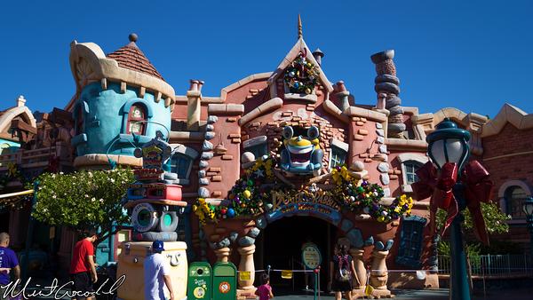Disneyland Resort, Disneyland, Mickey's, ToonTown, Toon Town, Christmas, Time