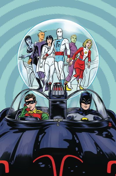 Batman 66 Meets The Legion Of Super Heroes #1