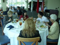 Xiamen, China delegation luncheon at Marina Jack's on Sarasota Bay during events in Sarasota in October 2007 to finalize the establishment of a Sister City relationship between Sarasota and Xiamen