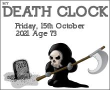 My Death Clock Prediction