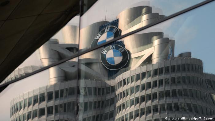 Deutschland BMW Hauptquartier in München (picture-alliance/dpa/A. Gebert)