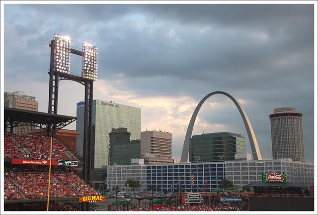 Arch From Busch Stadium 2011-07-29 1