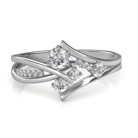 0.51 carat Platinum   Elisa Engagement Ring   Engagement
