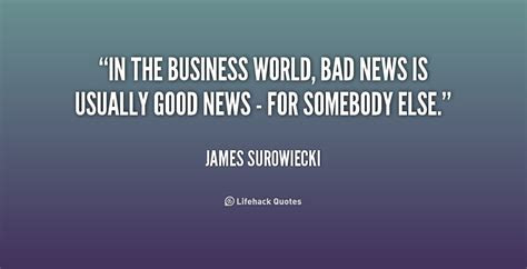 Bad News Quotes Sayings