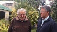 El expresidente Jose Mujica junto a Elías Jaua, excanciller de Venezuela